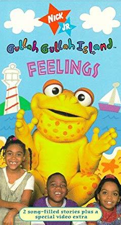 Gullah Gullah Island: Feelings (1998 VHS)