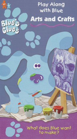 Blue's Clues: Arts and Crafts (1998 VHS)