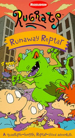 Rugrats: Runaway Reptar (1999 VHS)