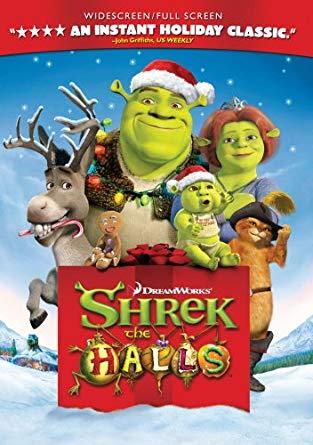 Shrek the Halls (2008 DVD)