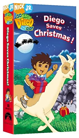 Go, Diego, Go!: Diego Saves Christmas! (2006 VHS)