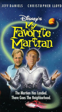 My Favorite Martian (VHS/DVD)