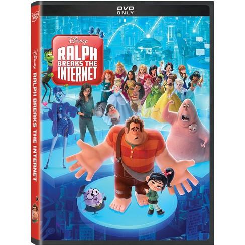 Ralph Breaks the Internet (2019 DVD)