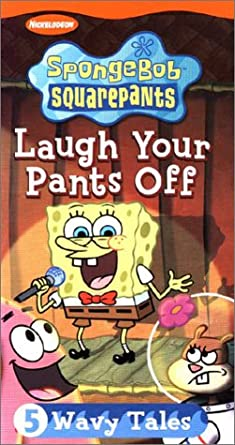 SpongeBob SquarePants: Laugh Your Pants Off (2003 VHS)