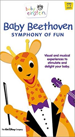 Baby Beethoven Symphony of Fun (2002-2004 VHS)