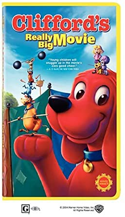 Clifford's Really Big Movie (2004 VHS)