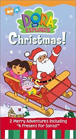 Dora the Explorer: Christmas! (2002 VHS)