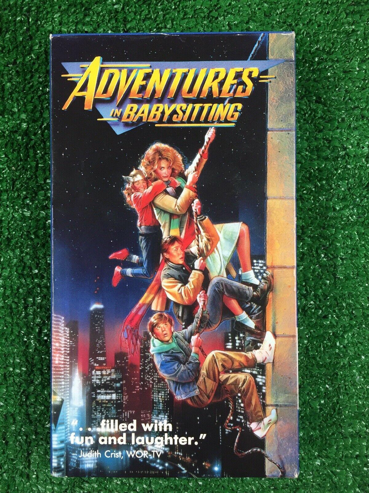 Adventures in Babysitting (1988-1993 VHS)