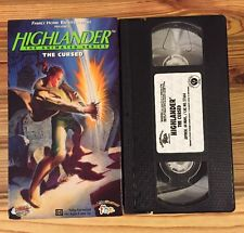 Highlander: The Animated Series: The Cursed (1996 VHS)
