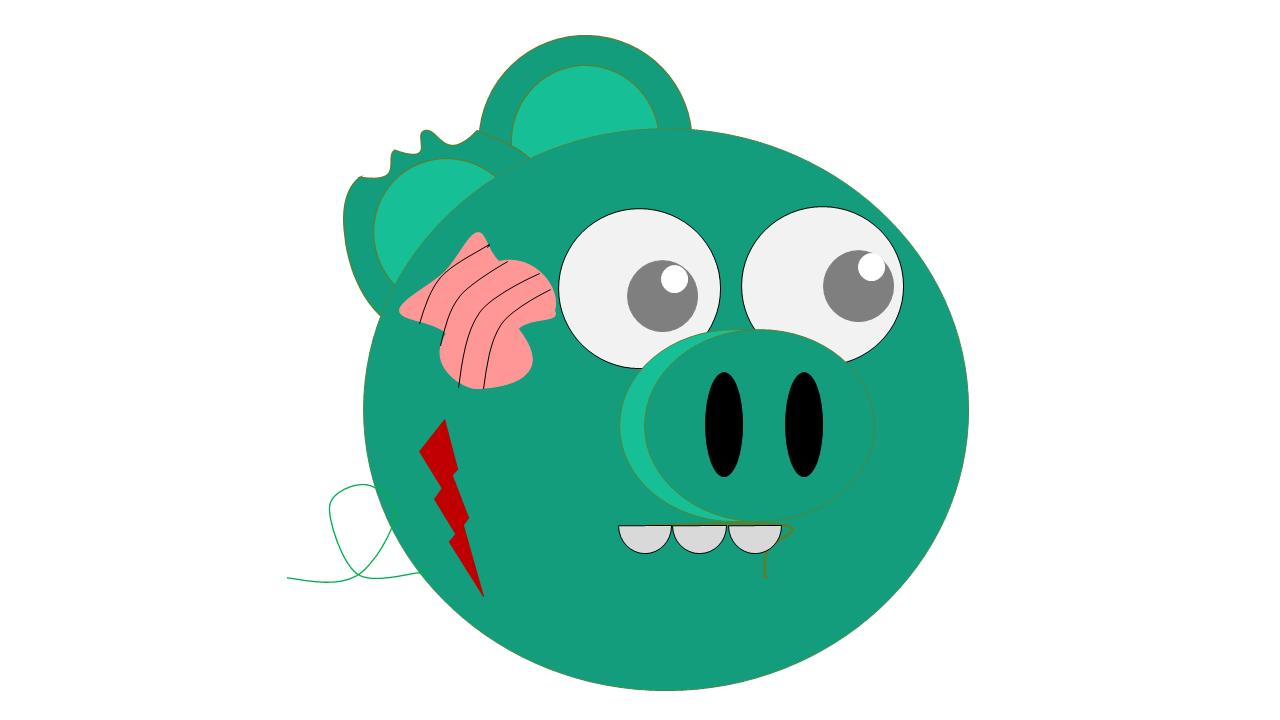 Зомби (Angry Piggies)