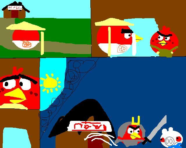 Angry Birds Ninjago Epic