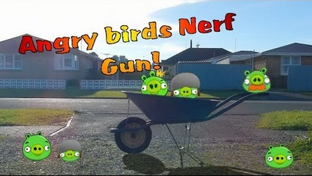 Angry Birds Nerf Tournament