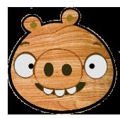 Деревянная свинья