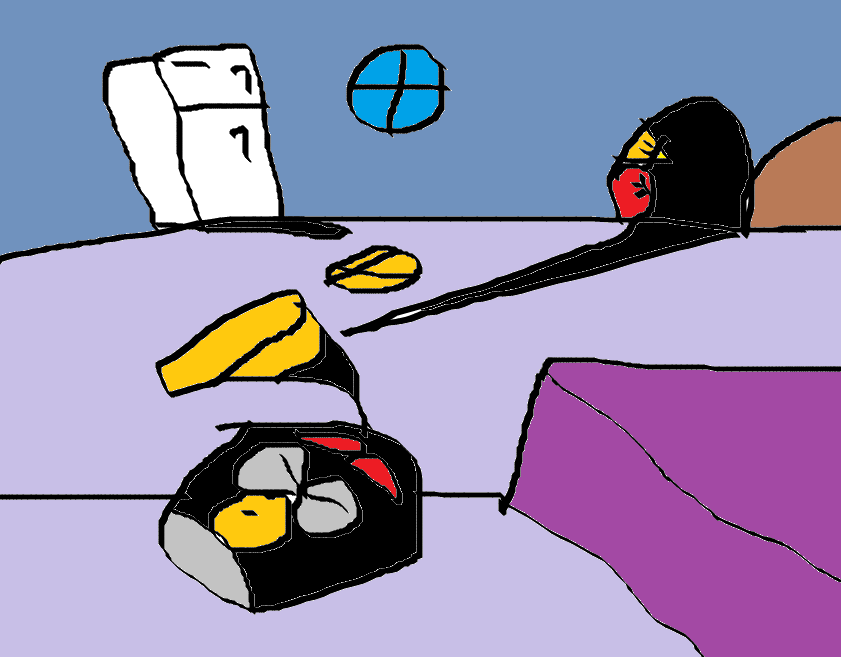 Бомб... . В спячке.