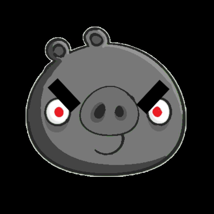 Огромный железный свин