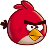 Angry Bird red by Bektr