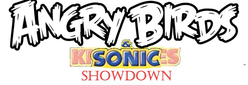 Angry Birds & Sonic Showdown