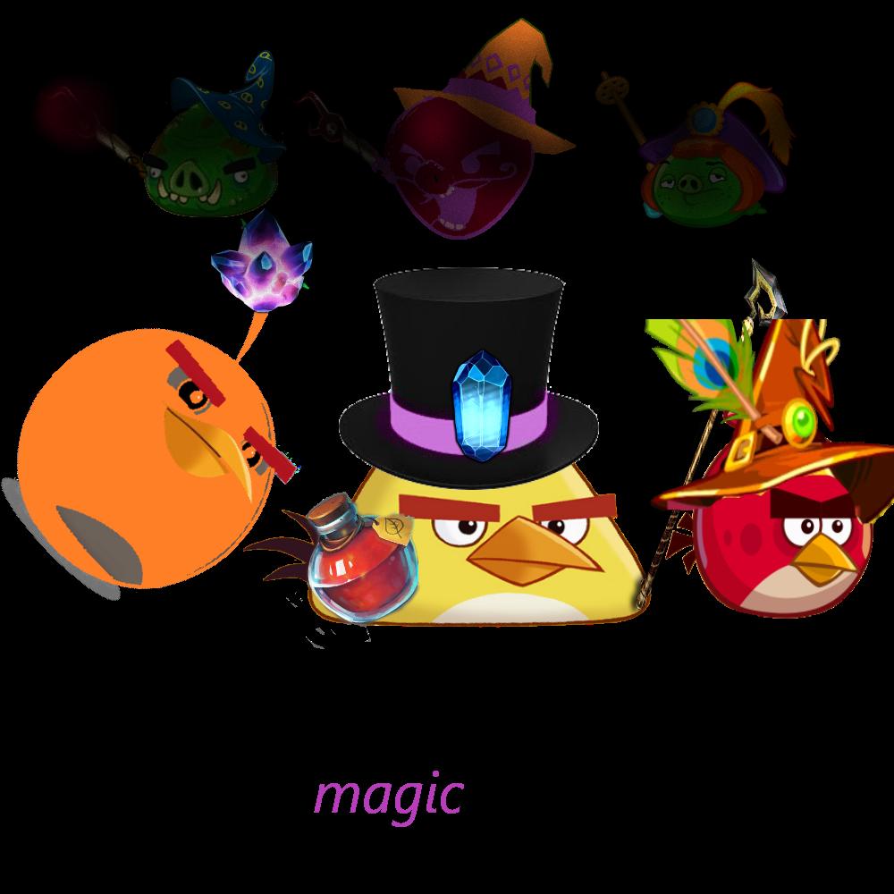 Angry birds magic