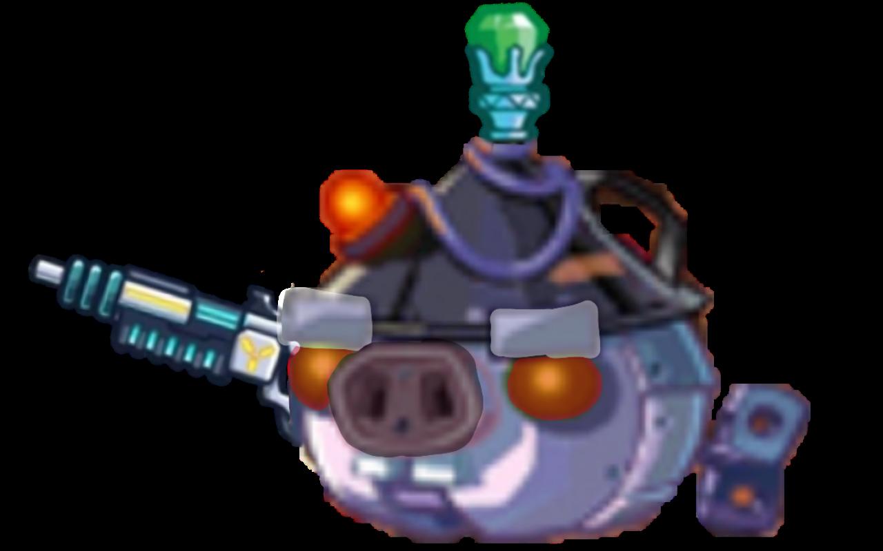 Мощный робот
