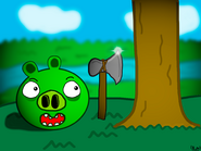 Рисунок по Piggy World Adventure 1