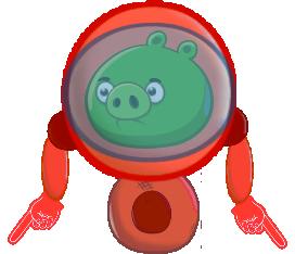 Свин в роботе
