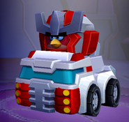 Angry Birds Transformers Ratchet Vehicle Mode