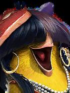 Flocker Tall Sia E1 Yellow
