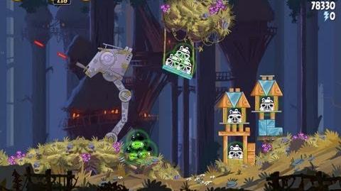 Moon of Endor 5-4 (Angry Birds Star Wars)/Video Walkthrough