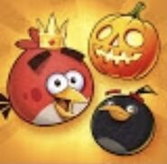 Angry Birds Friends Halloween Icon 2016