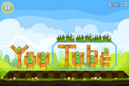 Youtube in angry birds