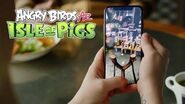Angry Birds AR Isle of Pigs Trailer