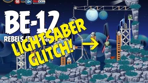 Angry Birds Star Wars 2 Rebels Level BE-12 Lightsaber Glitch - Massive Highscore