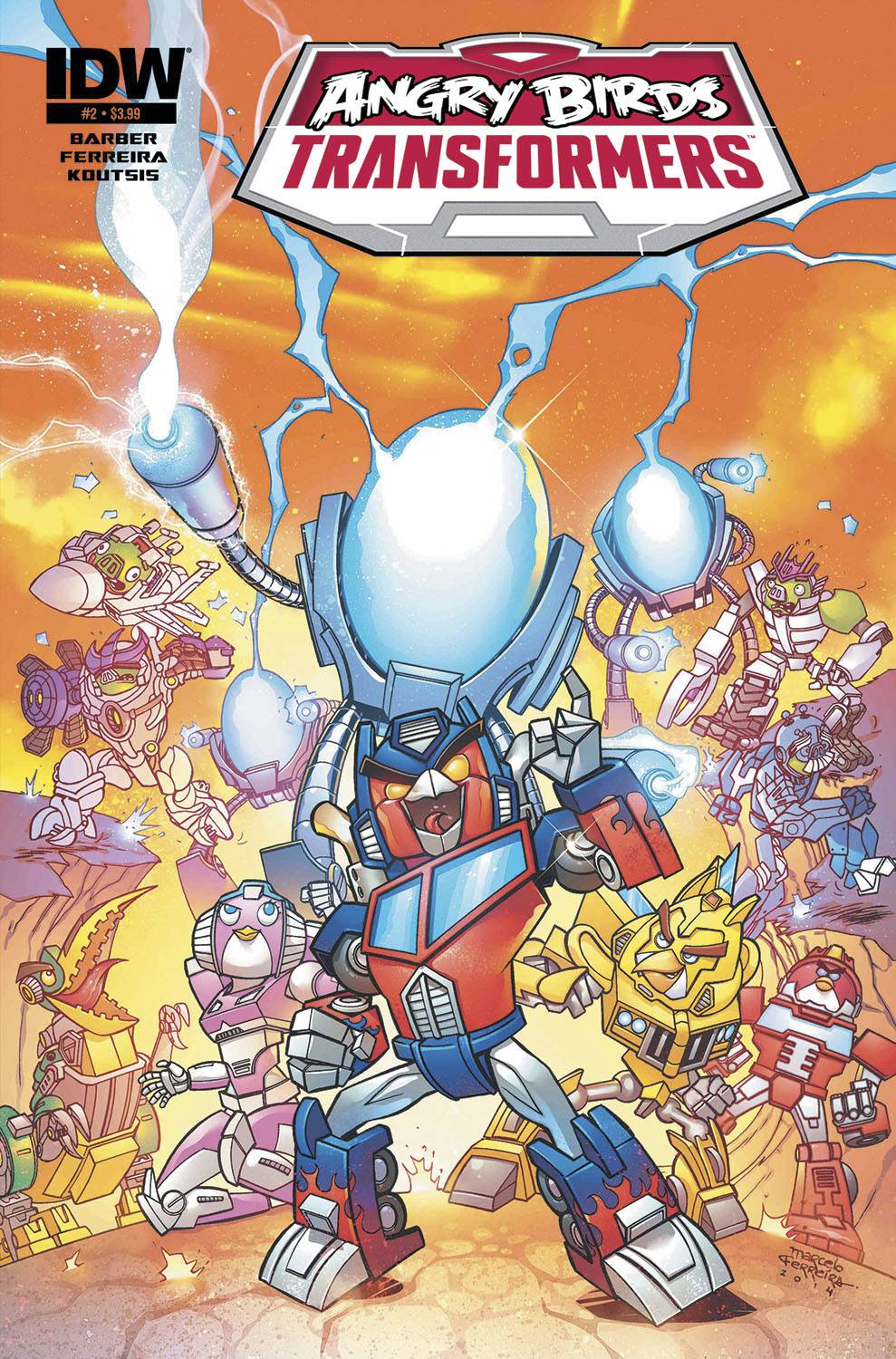 Angry Birds Transformers Issue 2