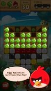 Angry Birds Blast Cerdo Globo