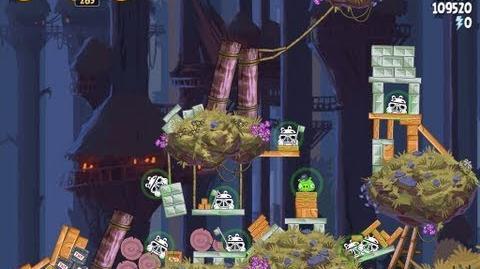 Moon of Endor 5-26 (Angry Birds Star Wars)/Video Walkthrough