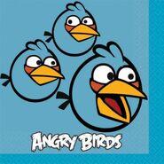 Angrybirdspartysuppliesbluebirdnapkins