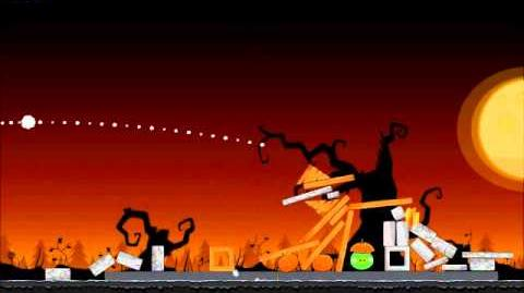 Official Angry Birds Seasons Walkthrough Trick or Treat 3-11