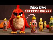 Angry Birds - Toy Unboxing - Surprise Drink!