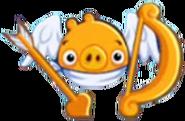 Cerdo Cupido Dorado Angry Birds Friends