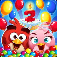 Angry Birds POP Birthday Icon
