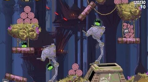 Moon of Endor 5-30 (Angry Birds Star Wars)/Video Walkthrough