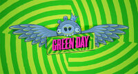 Green day angry birds