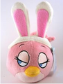 Pink Easter Bird Plush
