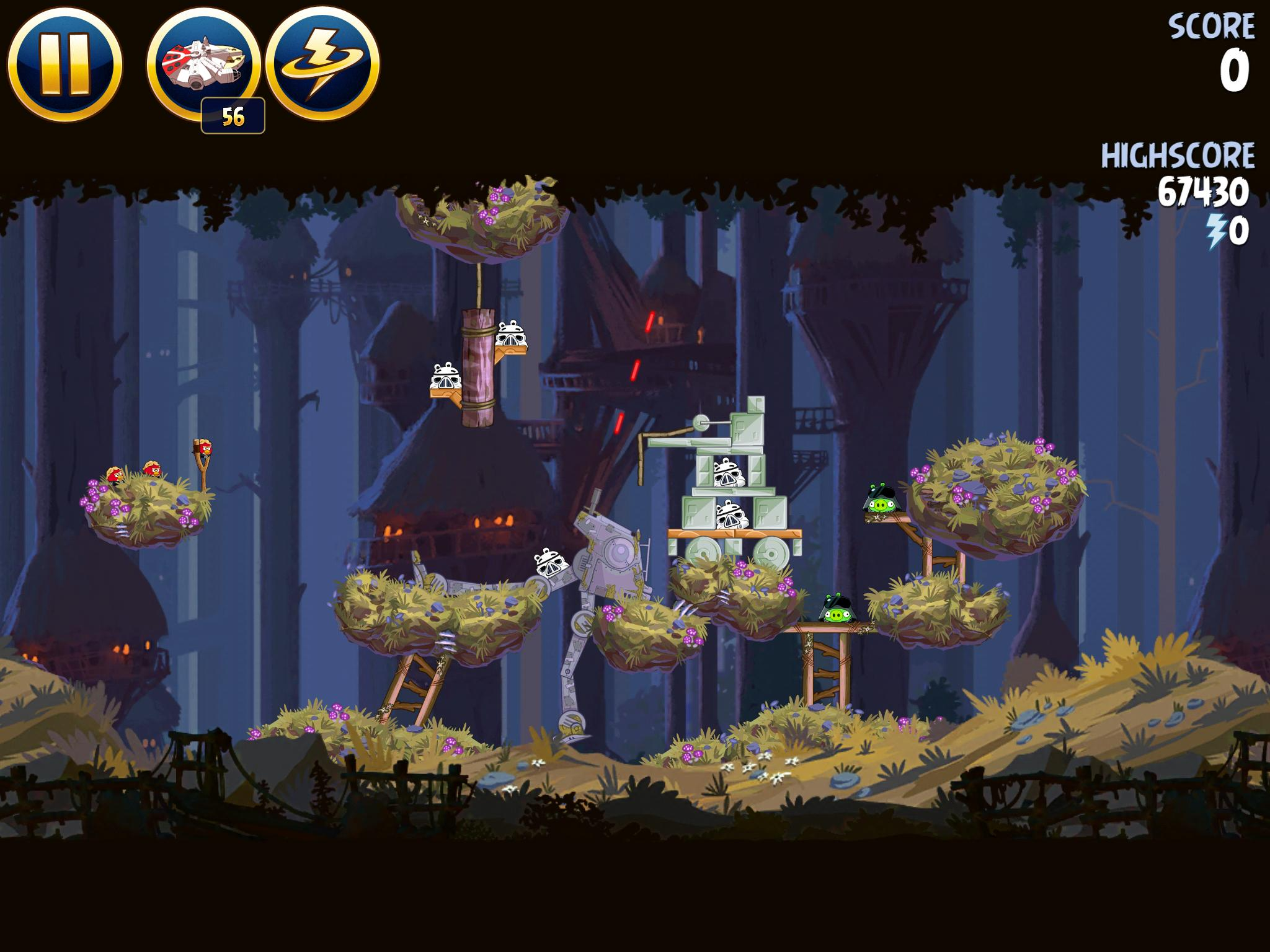 Moon of Endor 5-11 (Angry Birds Star Wars)