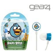 Angry Birds Gear4 Tweeters Blue Bird (Feathery Blue Bird)