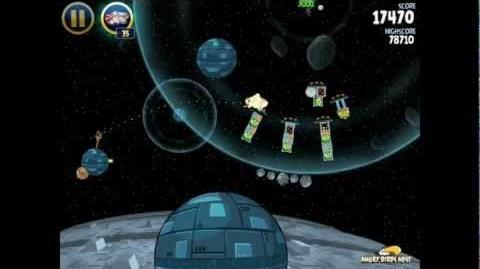 Death Star 2-36 (Angry Birds Star Wars)/Video Walkthrough