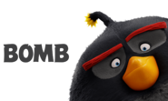 Bomb Angry Birds Movie Character