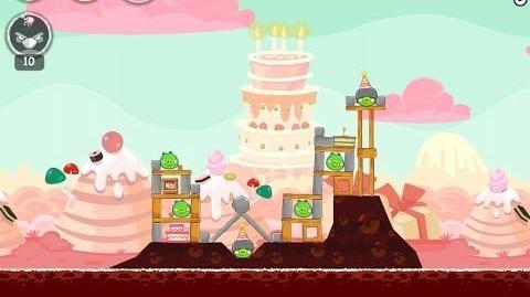Birdday Party Cake 4 Level 2