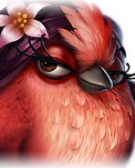 Flocker Red Portrait 039