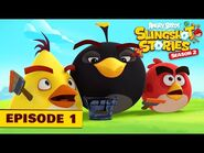 Angry Birds Slingshot Stories S2 - Color Crazy Ep1